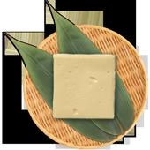 梅の花胡麻豆腐